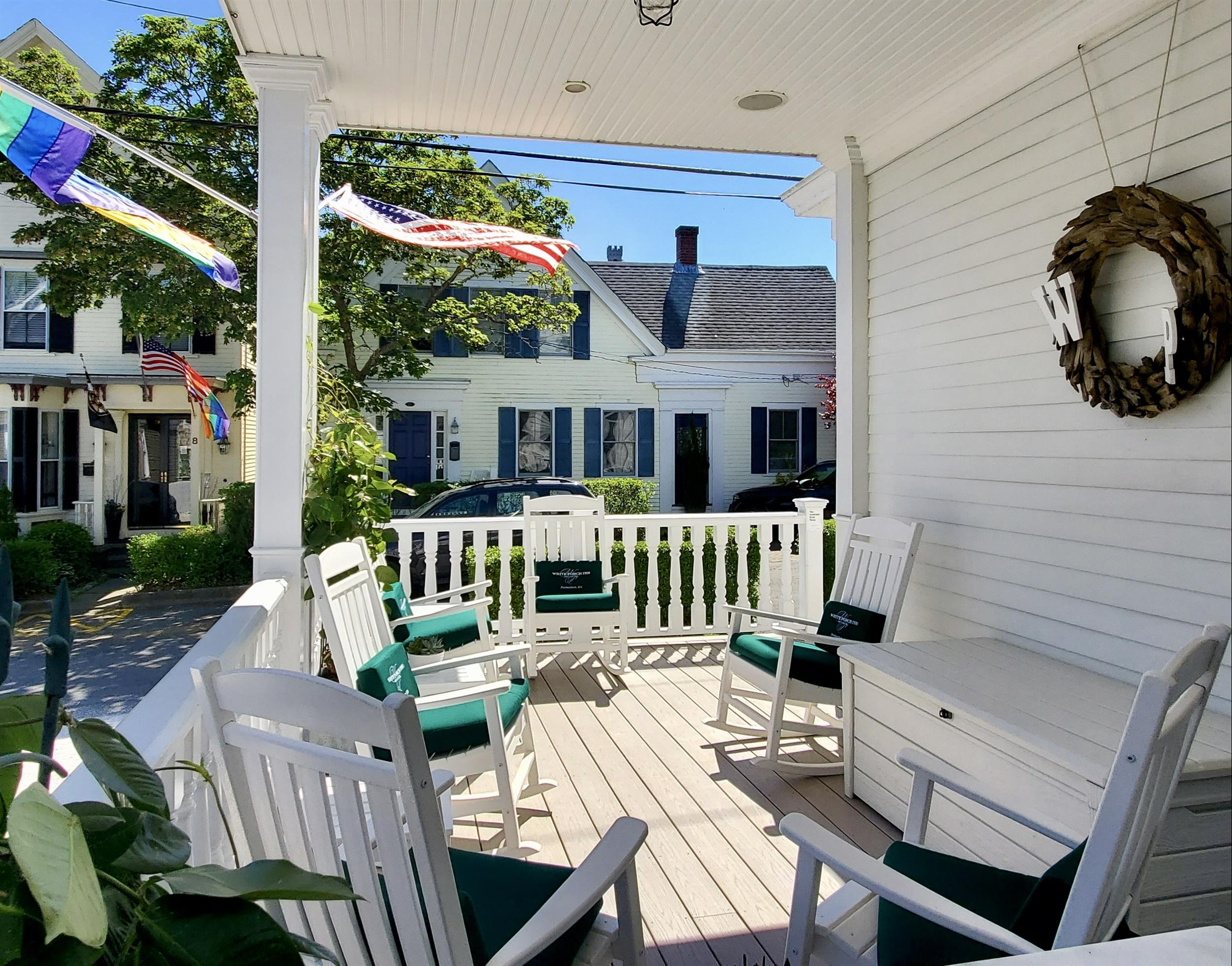 Enjoy the Porch at our Provincetown Hotel